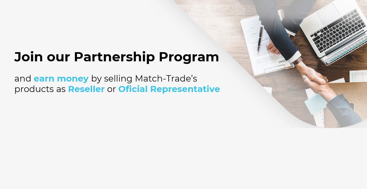 Join Match-Trade Partnership Program and become a member of the global sales network