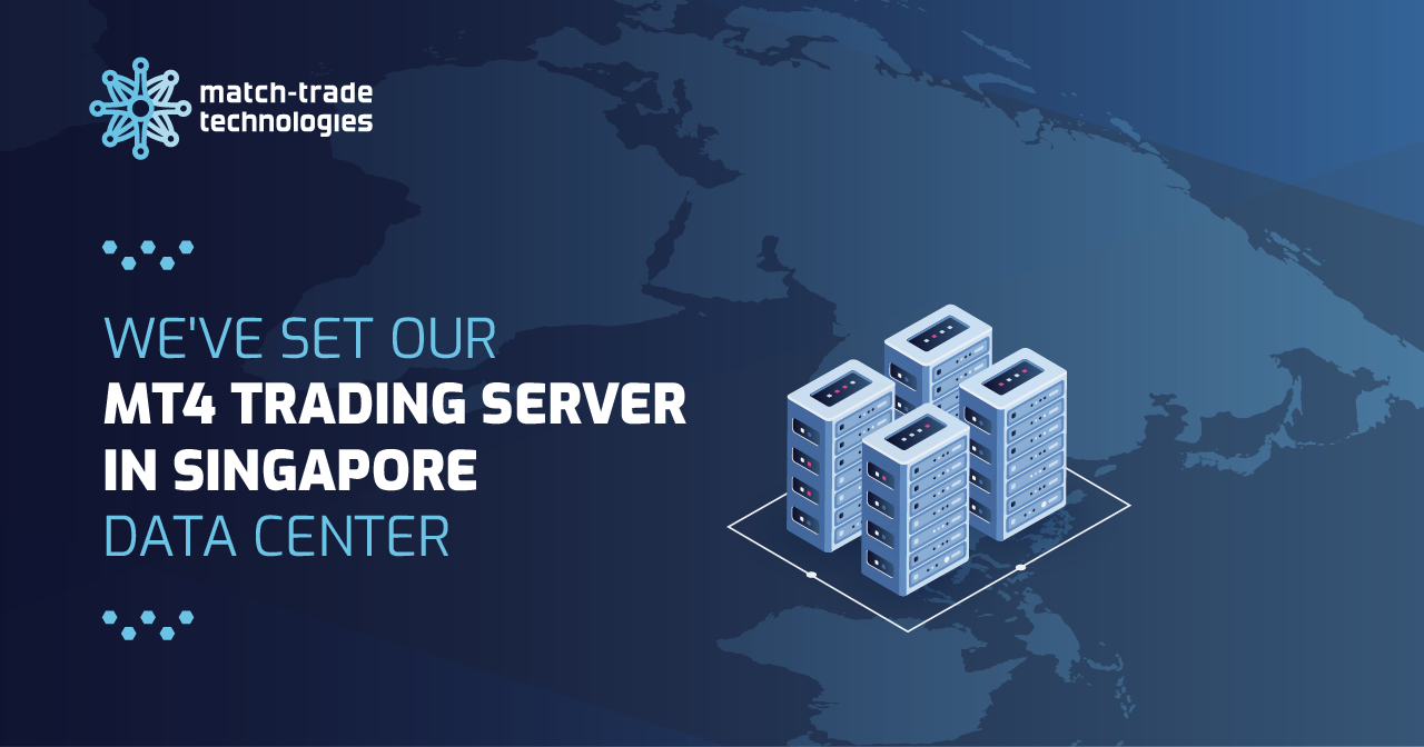 We have set our MT4 trading server in Singapore data centre